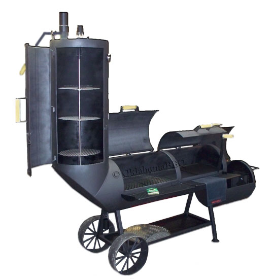 Oklahoma joe country smoker